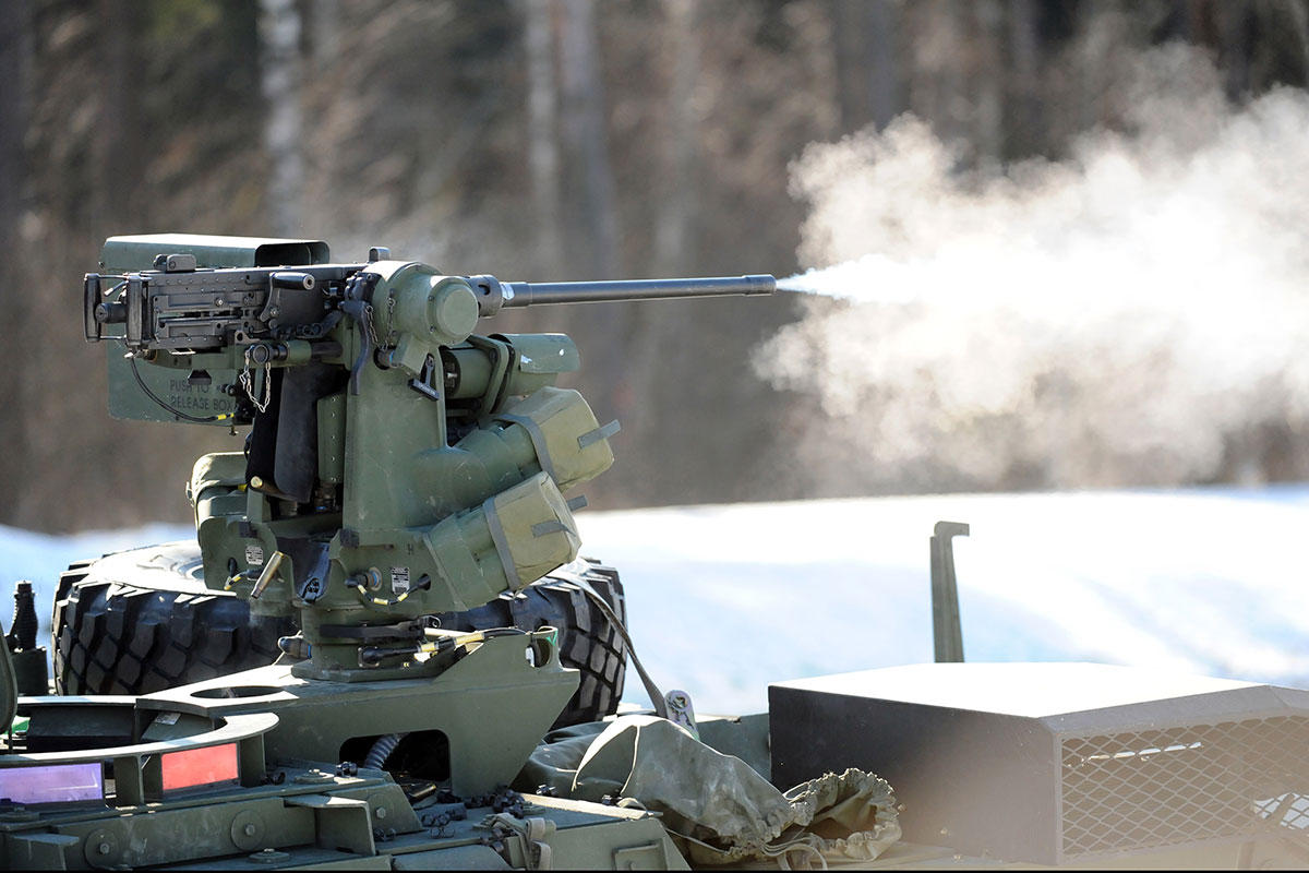 Weapons that Work Together Autonomously
